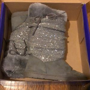 Girls Rampage Boots Gray and size 13 M